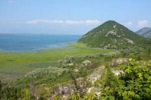 View On Lake Skadar From Virpazar, Montenegro